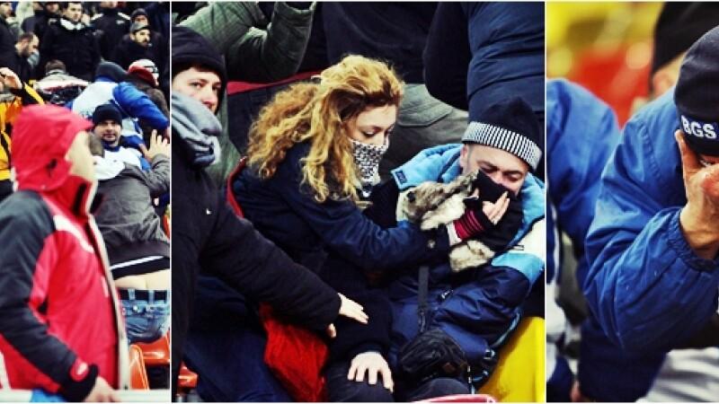 suporteri la Romania Uruguay