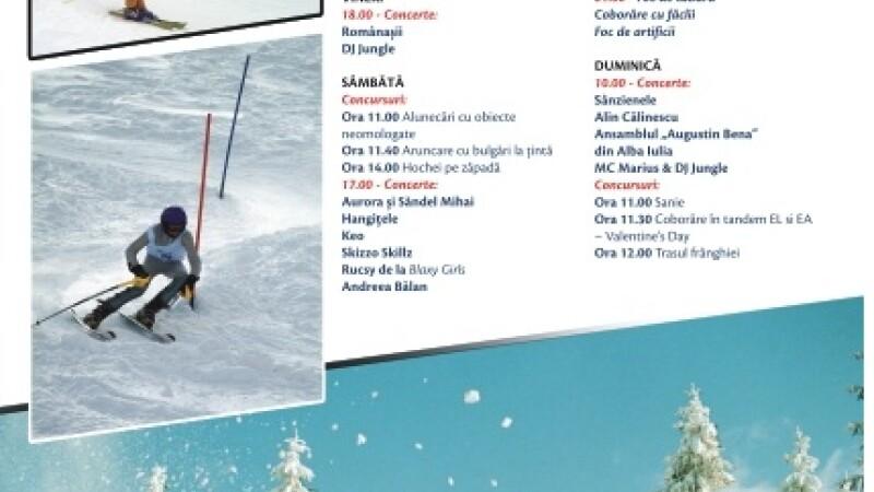 Se anunta un weekend plin de adrenalina in Alba. La Arieseni incep serbarile zapezii
