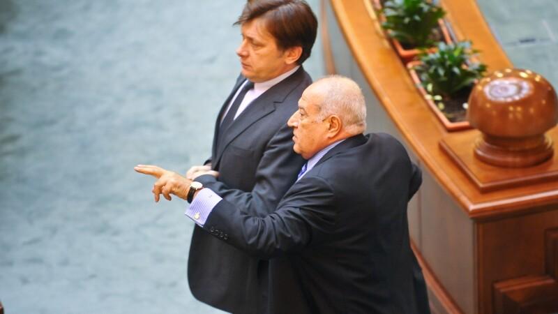 Crin Antonescu, Dan Voiculescu