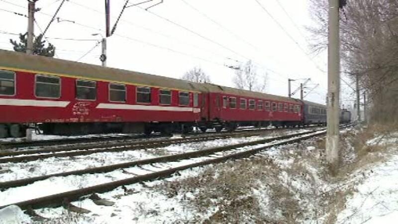 O datorie de cateva sute de euro l-a impins pe un tanar sub sinele unui tren