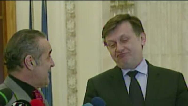 Gigi Becali si Crin Antonescu