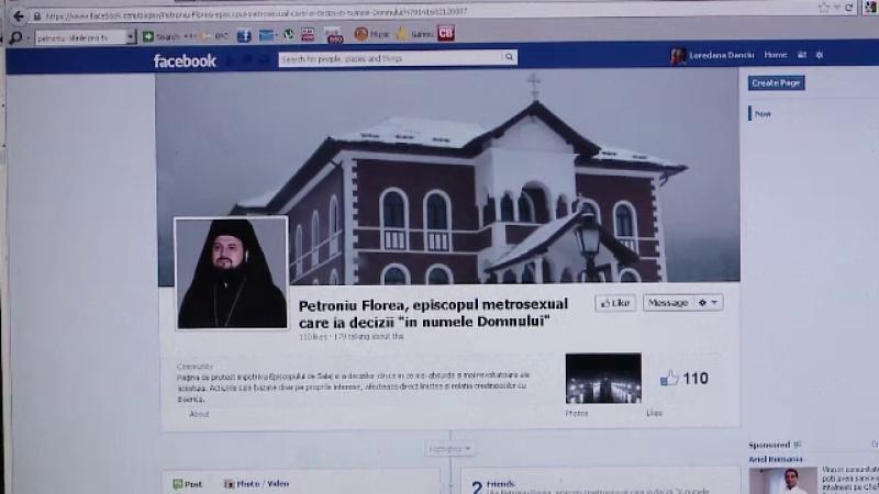 Protest pe Facebook impotriva unui episcop. \