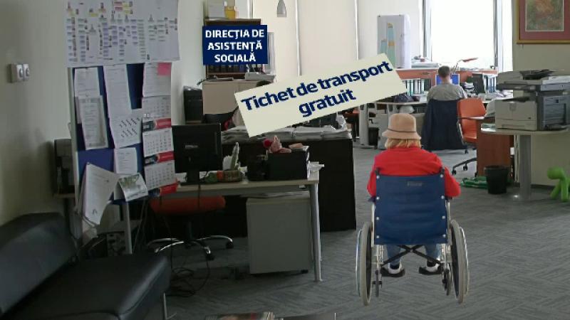 Mecanismul unei fraude de milioane cu tichete gratuite de transport pentru persoane cu dizabilitati