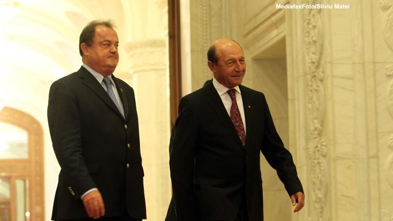 Vasile Blaga, Traian Basescu