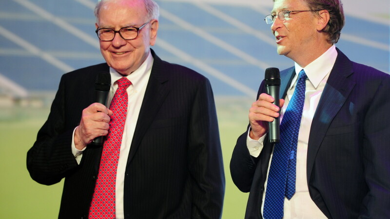 Bill Gates & Warren Buffet