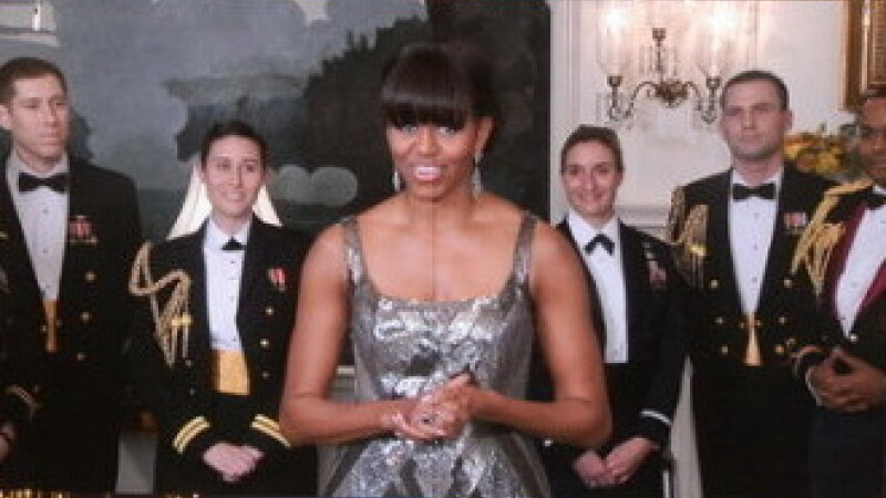 Fotografiile cu Michelle Obama la premiile Oscar, modificate de agentia oficiala de presa din Iran