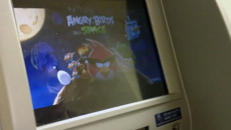 angry birds ATM