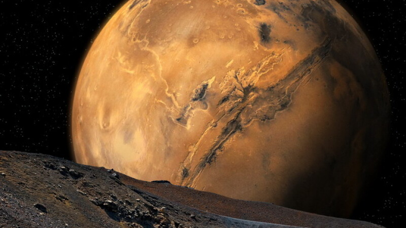 Imagini in premiera fotografiate de o sonda spatiala pe planeta Marte. Cum au aparut \