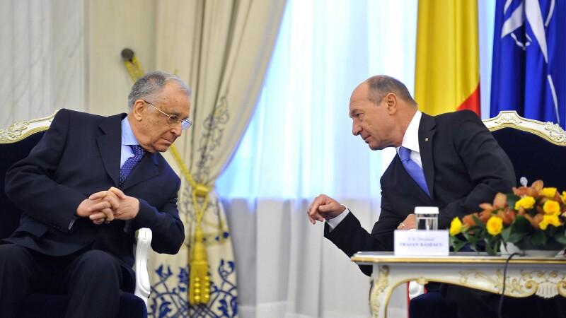 Ion Iliescu, Traian Basescu