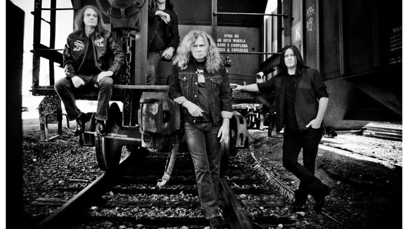 Megadeth concerteaza in Romania, pe 22 mai 2013, la Arenele Romane