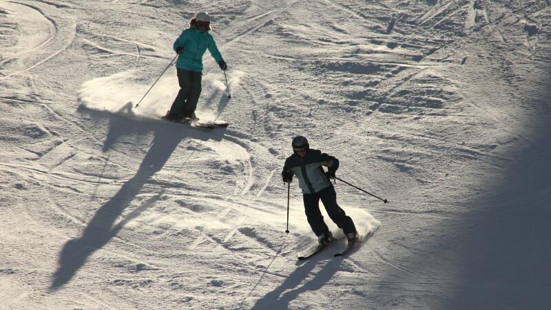 Partie de schi