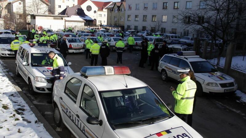 282 de sanctiuni aplicate de politistii clujeni intr-o zi