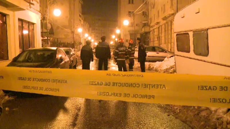 Pericol mare in centrul Capitalei. O defectiune la conducta de gaze i-a scos pe oameni in strada. Raspunsul Distrigaz