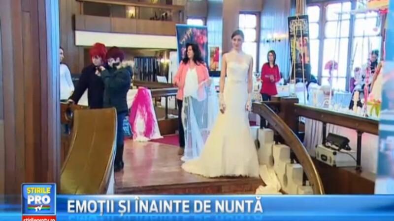 Emotii pentru mirese la Targul de nunti organizat la Targu Mures