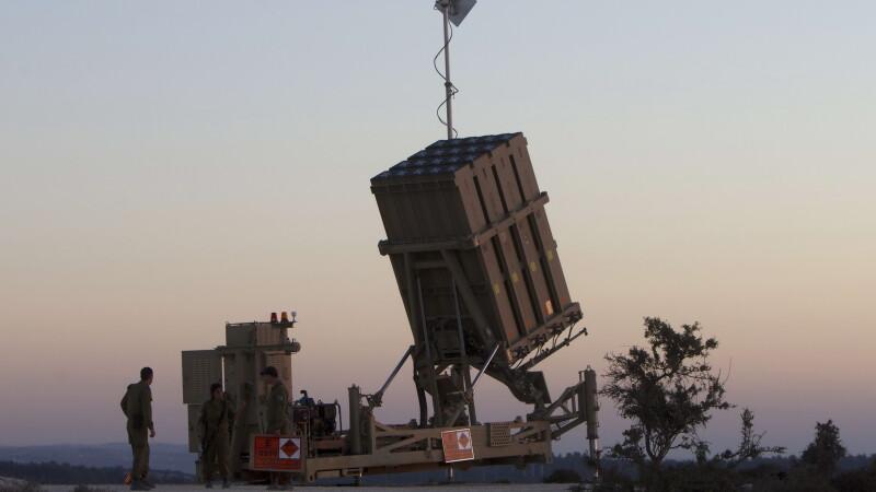 Lansator israelian de rachete care face parte din Iron Dome