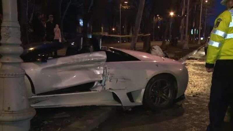 accident lamborghini