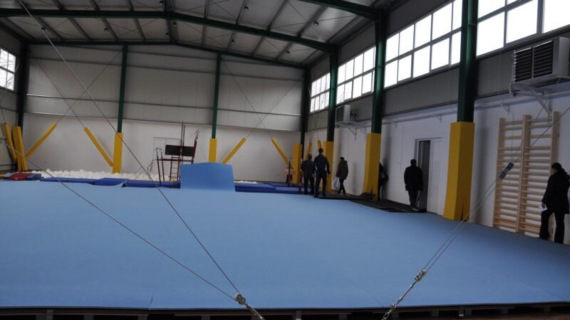 sala gimnastica, arad