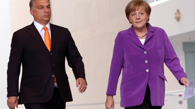 Viktor Orban, Angela Merkel