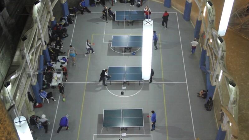 Peste 50 de iubitori de tenis de masa s-au intalnit in weekend la salina din Turda