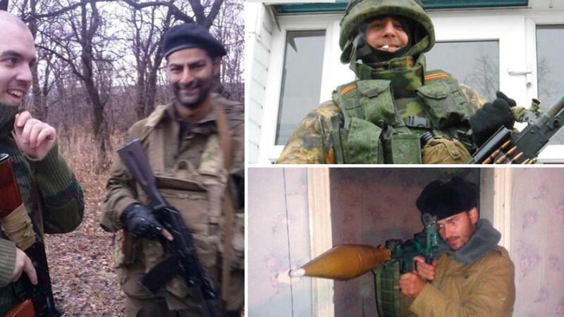 voluntari spanioli in Ucraina