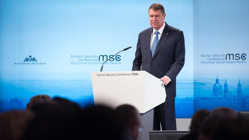 Iohannis la Conferinta de Securitate de la Munchen
