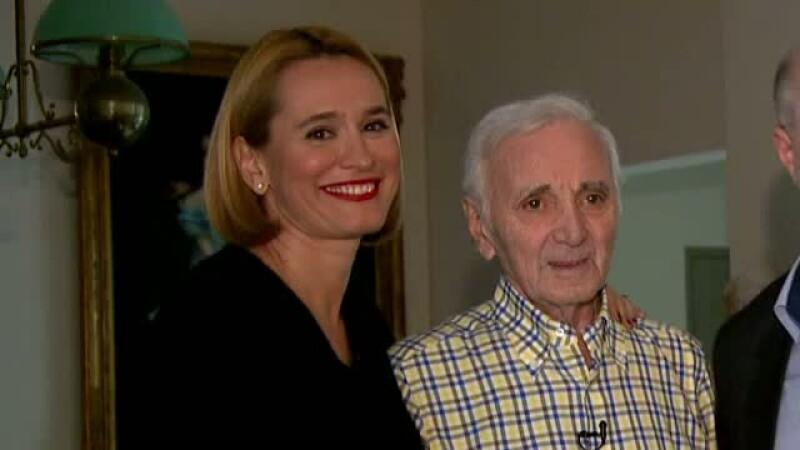 Prima amintire a marelui artist Charles Aznavour despre Romania.