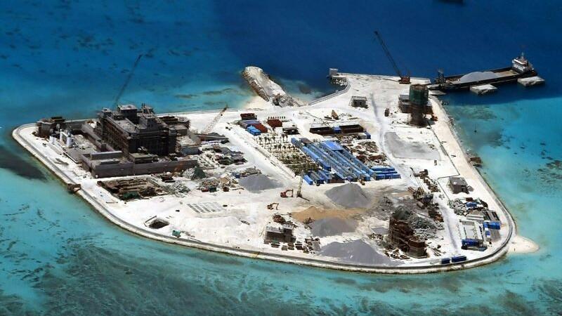 Insula pe care China a plasat armament