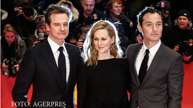 Jude Law, Colin Firth, Laura Linney la Berlinala