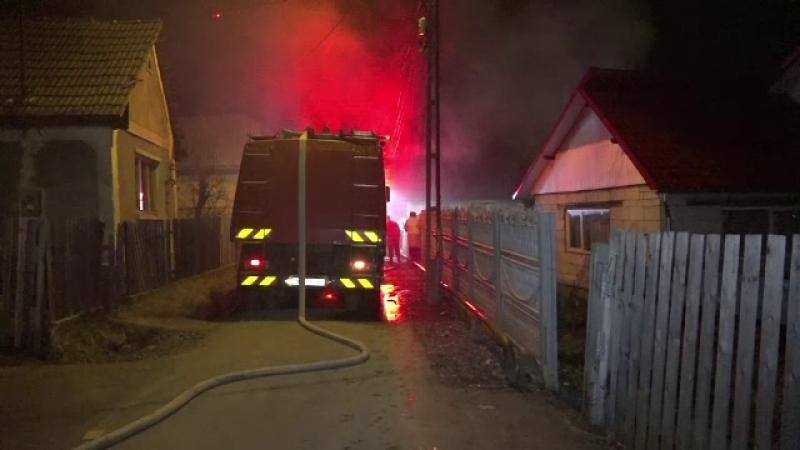 incendiu Baia Mare