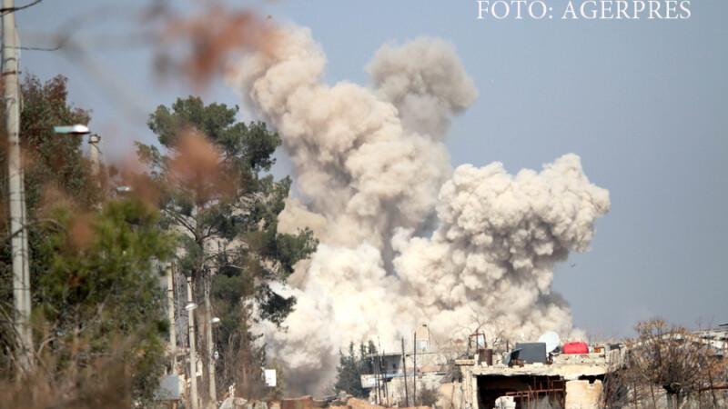 Noi bombardamente lansate de rusi asupra unor tinte ale ISIS din Siria. Presa locala: