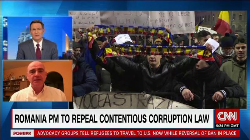 Catalin Radu Tanase, CNN