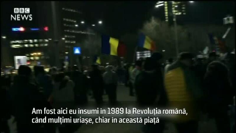 BBC proteste