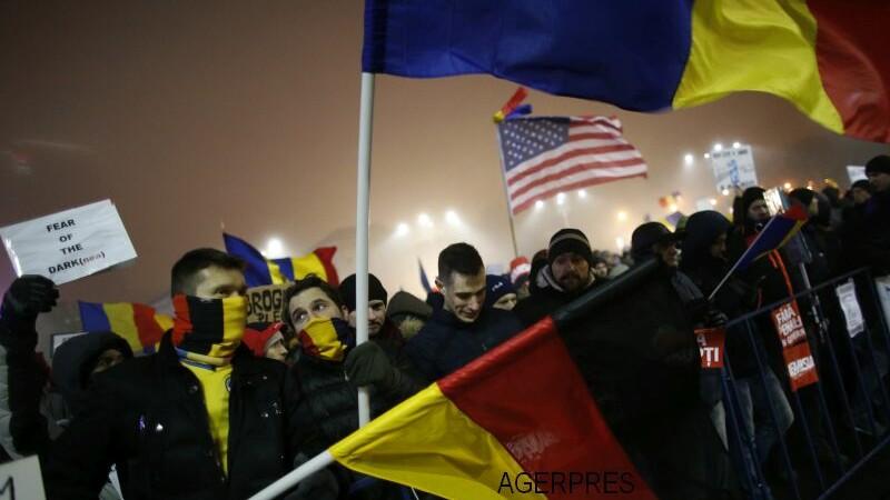 Sibiul si Timisoara, orasele in care au iesit cei mai multi oameni pentru a protesta impotriva Guvernului Grindeanu