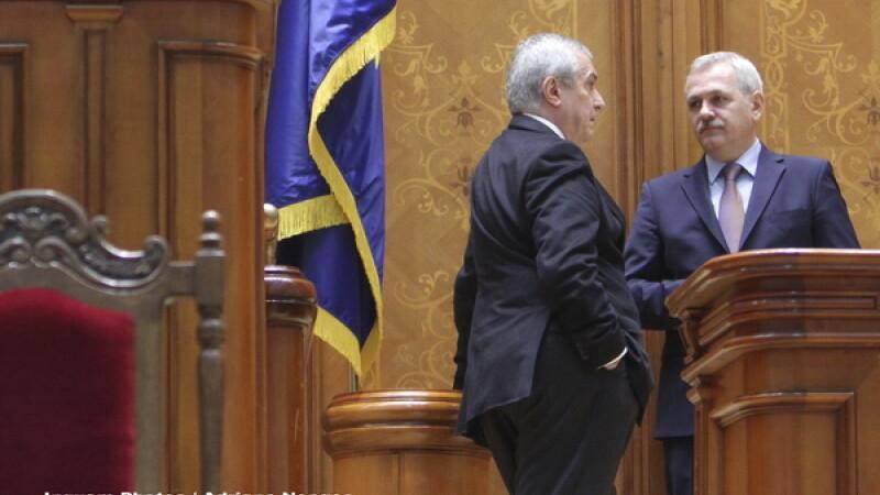 Liviu Dragnea, Calin Popescu Tariceanu