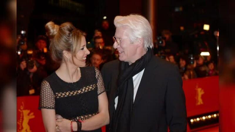 Richard Gere si iubita