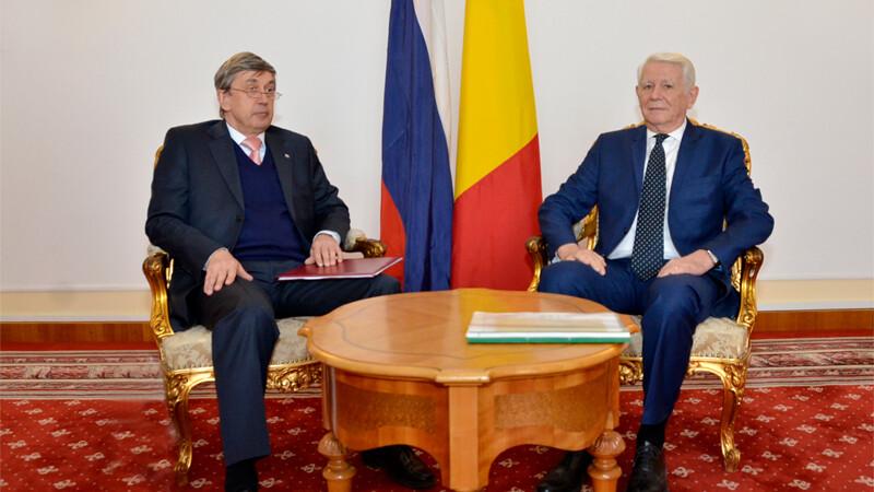 Teodor Melescanu si Valeri Kuzmin