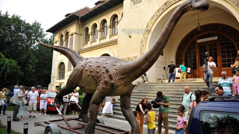 Muzeului National de Geologie - Agerpres