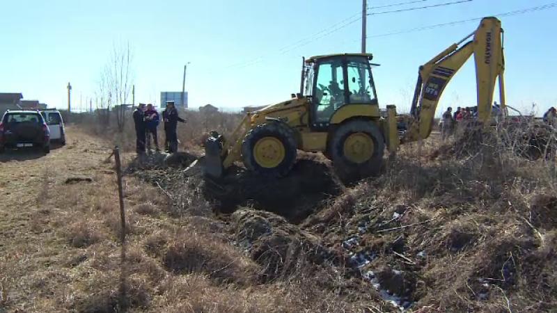 excavator teren