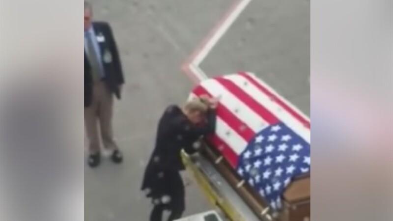 Soldat american decedat
