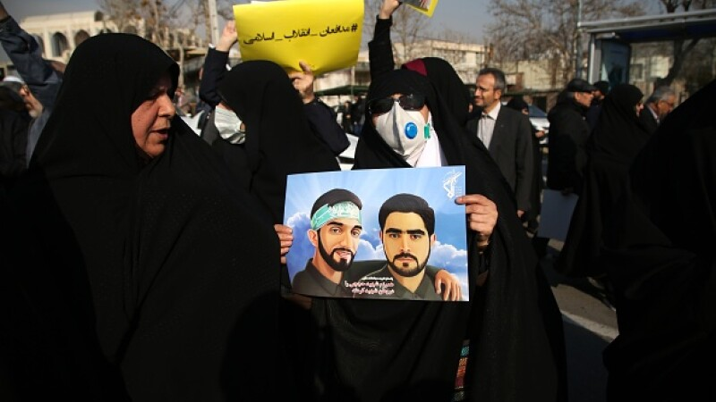 Protest Teheran