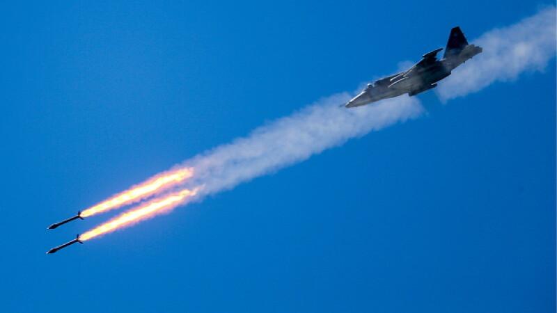 Avion militar rusesc dispărut de pe radare în apropierea coastei siriene. Cine l-ar fi doborât