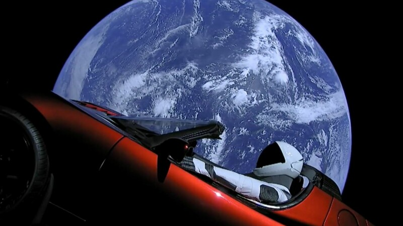 space x, starman