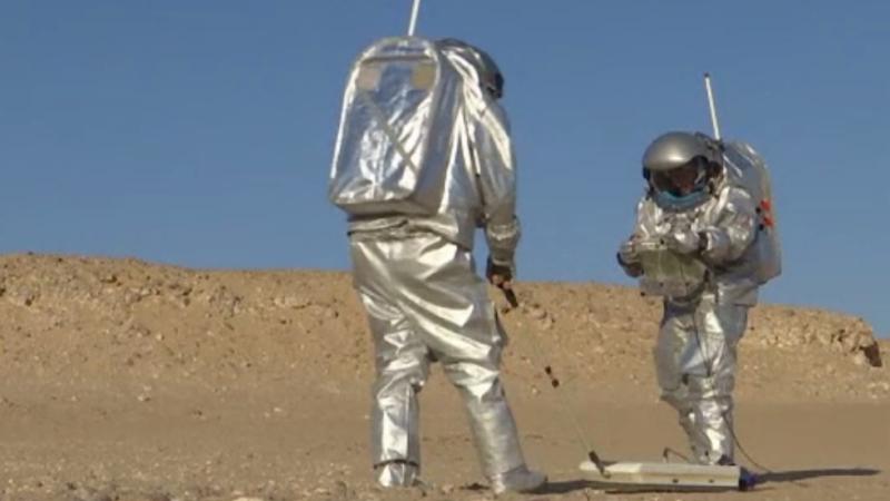 NASA a anunţat data la care va trimite primul om pe Marte.