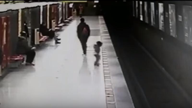 copil metrou