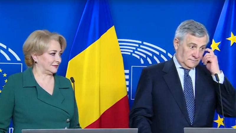 Viorica Dancila si Antonio Tajani