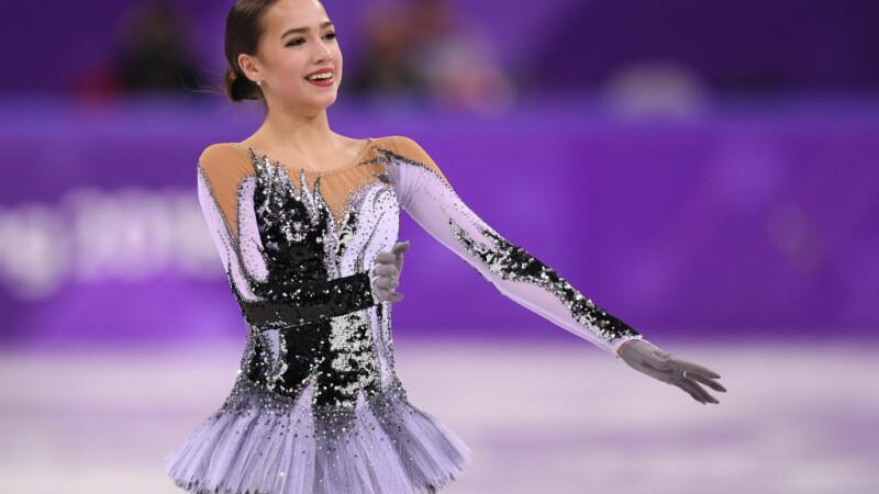 Alina Zaghitova, JO de iarna 2018, patinaj artistic