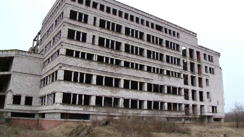 Spital abandonat