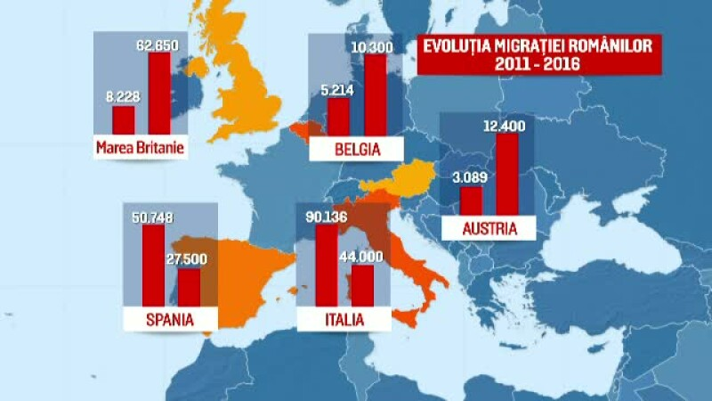 România, țara din care au migrat cei mai mulți oameni, după Siria. Raport îngrijorător al ONU
