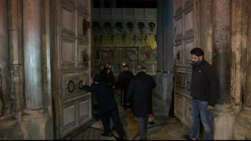 Biserica Sfântului Mormânt, redeschisă după trei zile