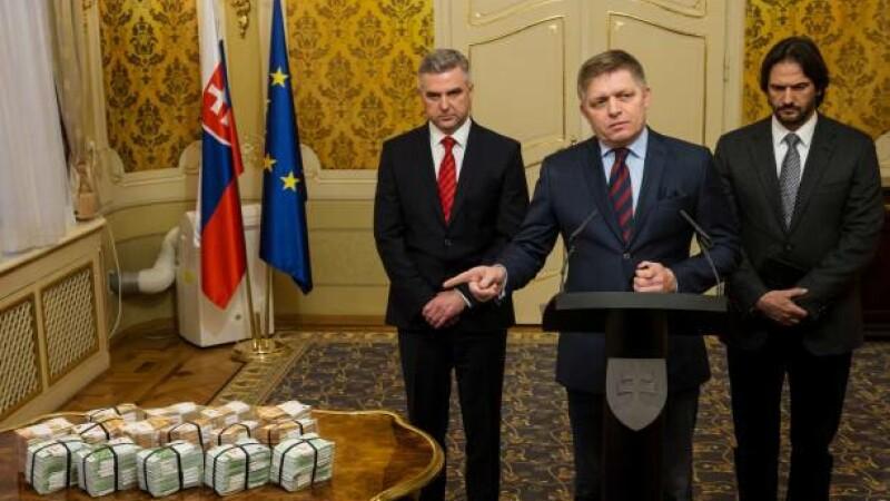 premierul slovac, recompensă